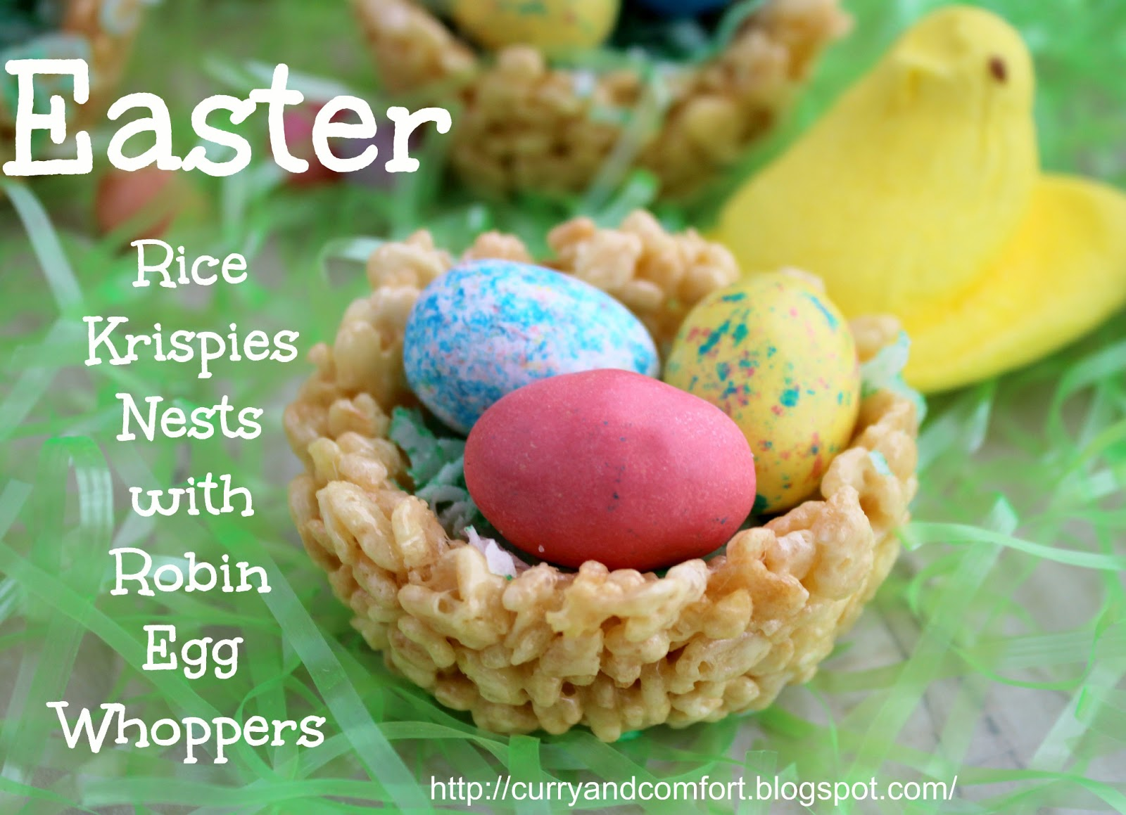 How to Make Rice Krispies Nest Cakes forecast