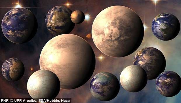 Mengenal Delapan Planet yang Mirip Bumi
