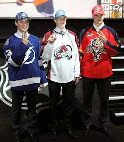 Top 3 Picks in the 2013 NHL Draft