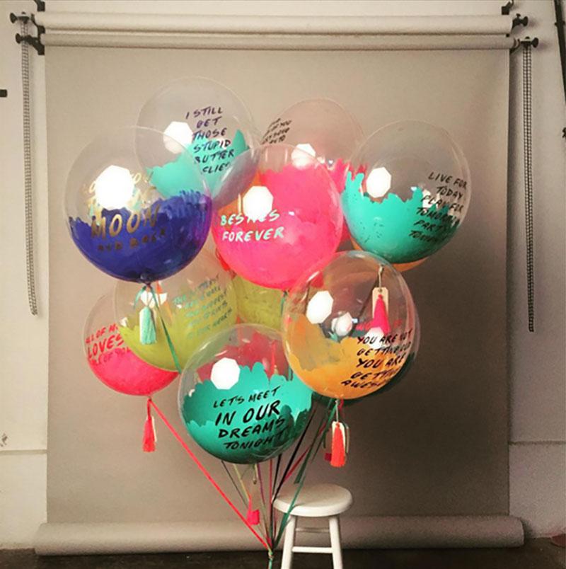Los decorativos globos gigantes de unelefante maria victrix - Bombas para decorar ...