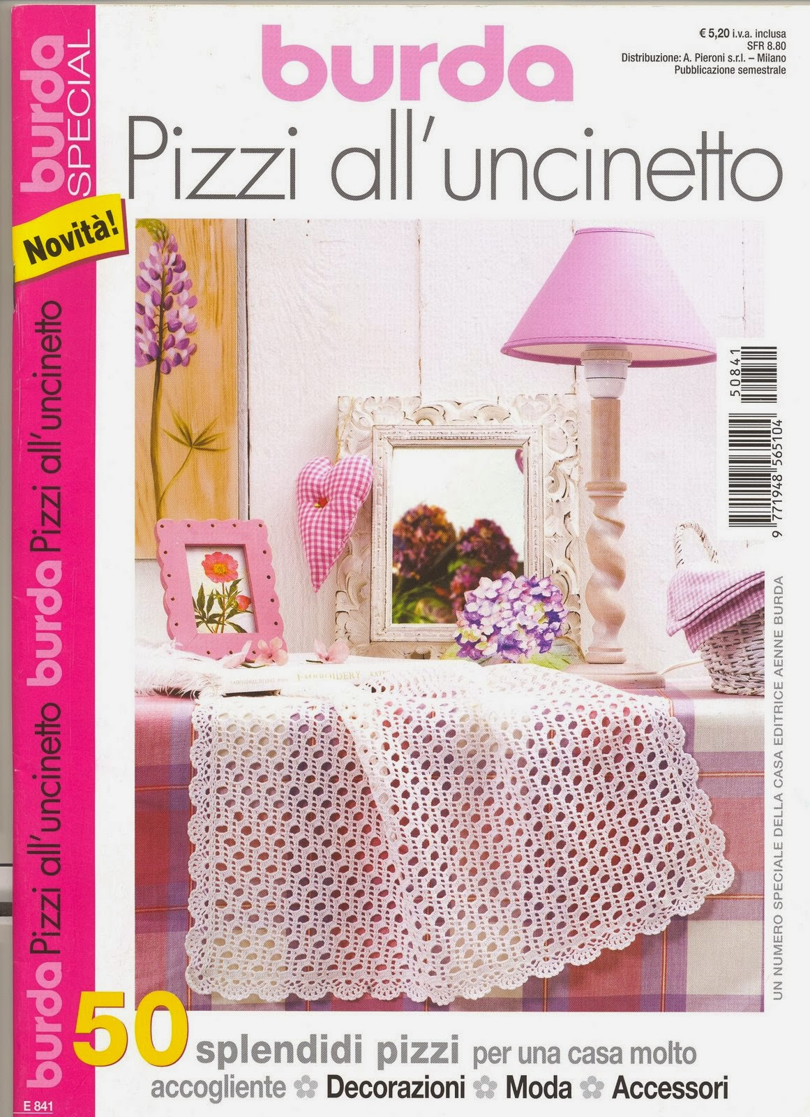 Pizzi uncinetto rivista intera burda for Burda filet all uncinetto