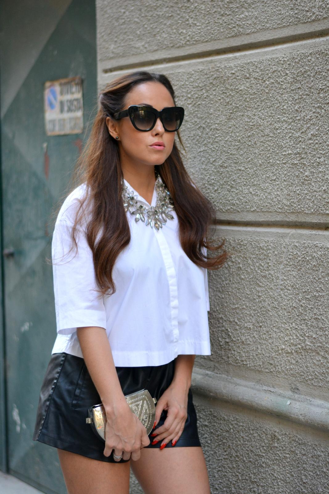 Black and white, Zara, Jessica Neumann, outfit, Marrakech, Fashion Blogger Italia, Influencer,