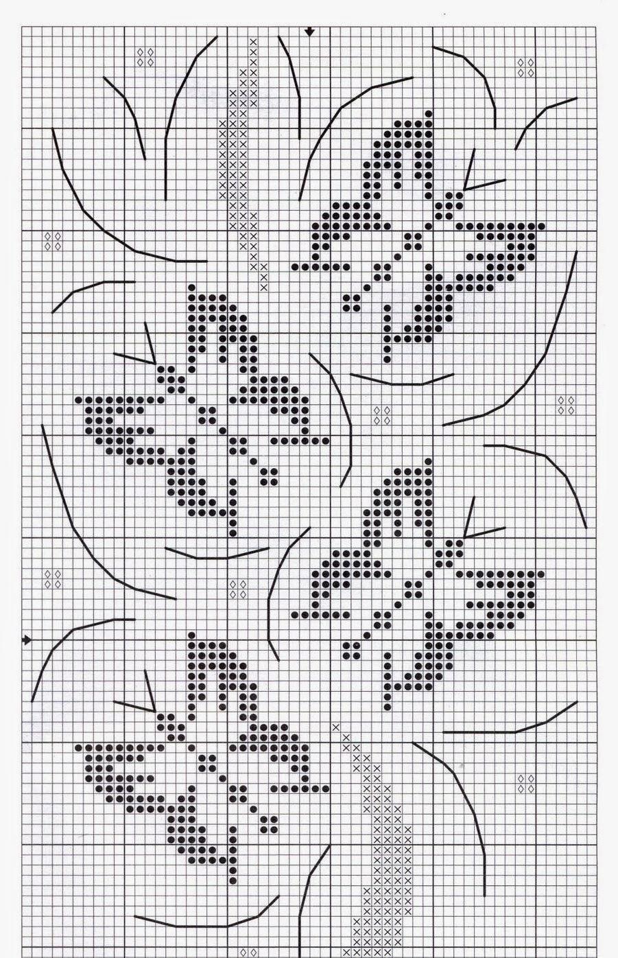 Вязание(жаккард, вышивка ) Irina @ Простые схемы. Экономим время на 35