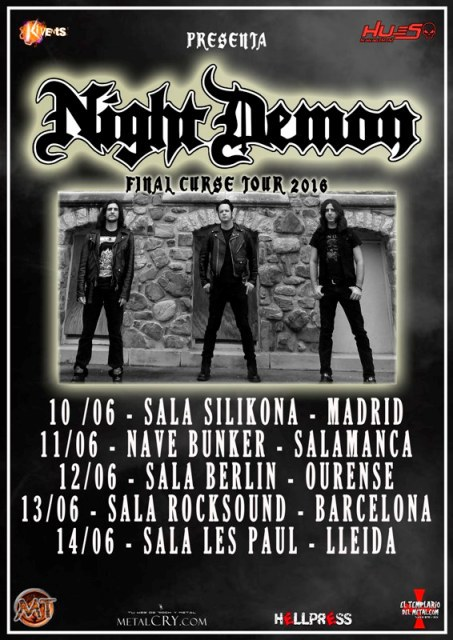 NIGHT DEMON EN ESPAÑA