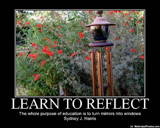 Learn to Reflect-image of a reflection garden