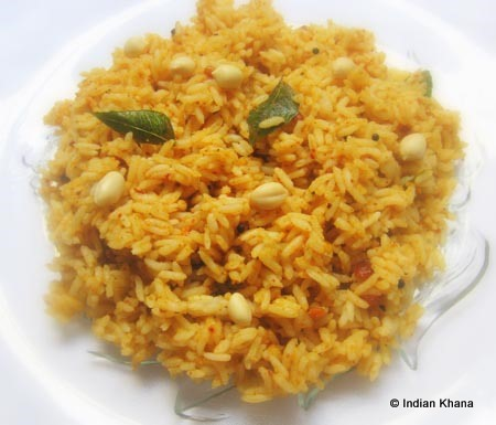 Tamarind Rice | Puliyogare ~ Indian Khana