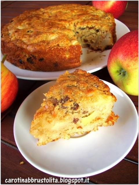 prima torta di mele vegan (senza grassi, davvero buona)