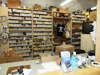 Parts & service desk
