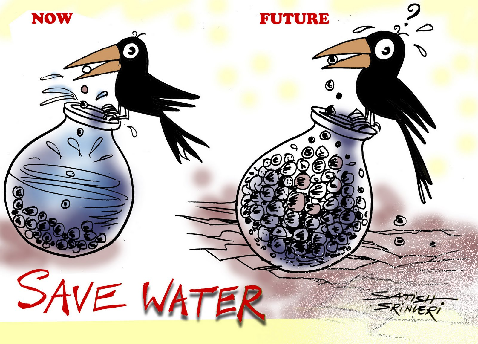 "essays on save water Save water ""water is a life"" not only the human being but also for the entire ecosystem water is precious we all depend on water for many purposes."