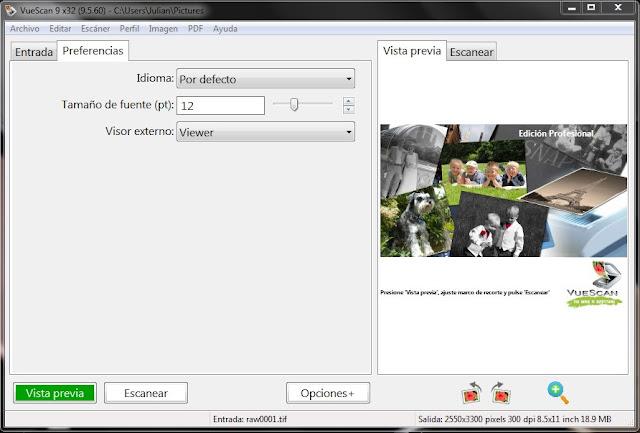 Resultado de imagen de VueScan Pro 9