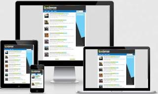 Template Minimalis SEO Responsive Mobile Friendly