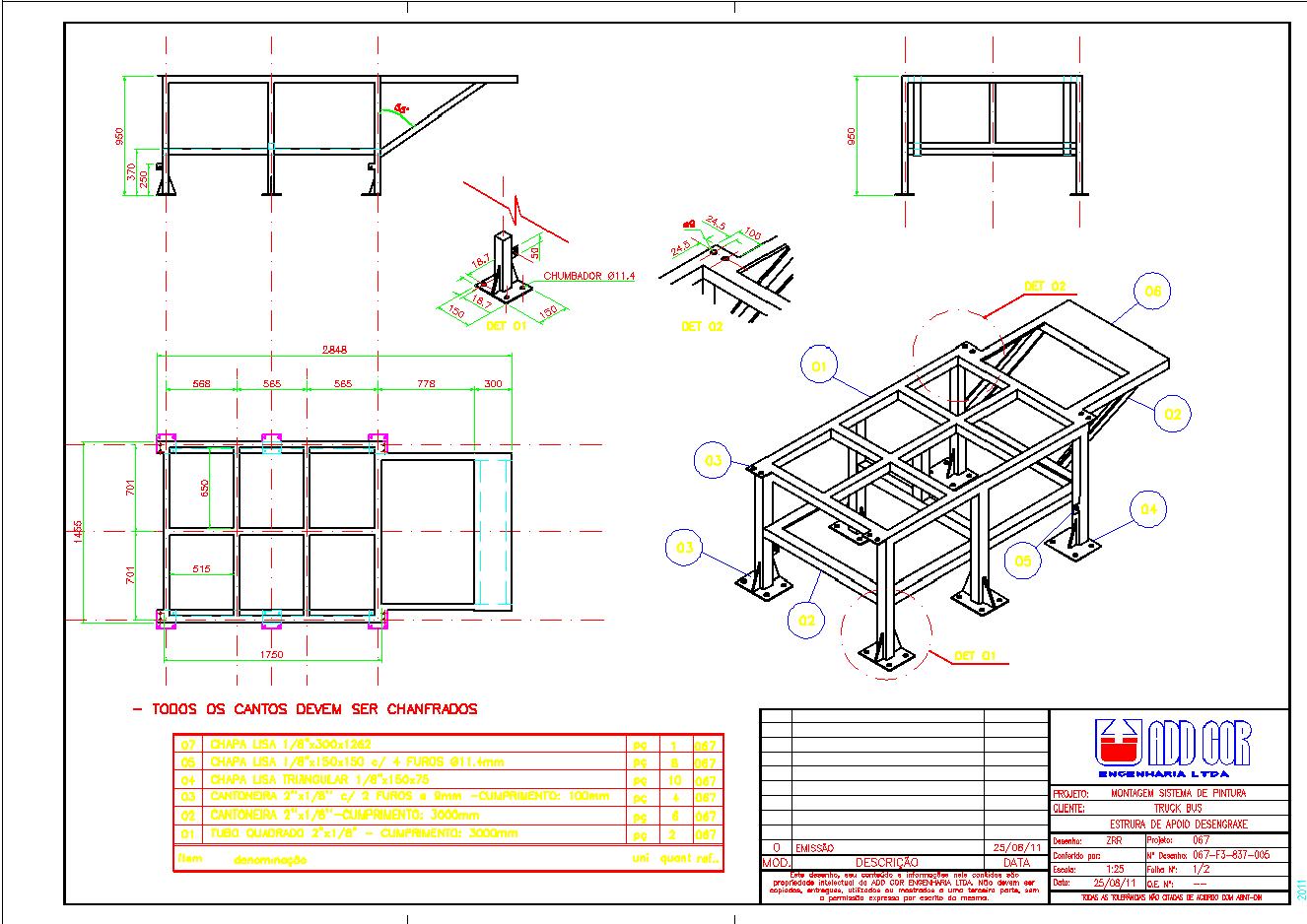 Vertical Projetos ®: Render 3D #CCCA00 1326 938