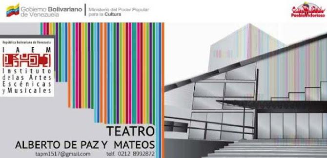 Teatro Alberto de Paz y Mateos