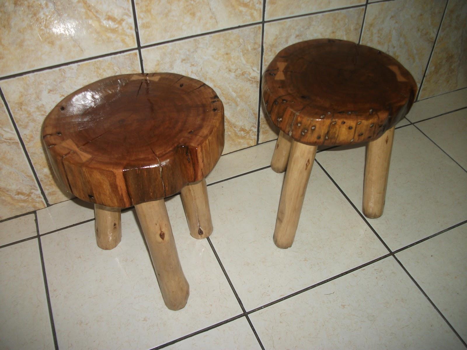 Do Lixo Para O Uso: bancos feitos de madeira de eucalipto #673E24 1600x1200