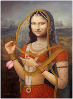 Indian Mona Lisa