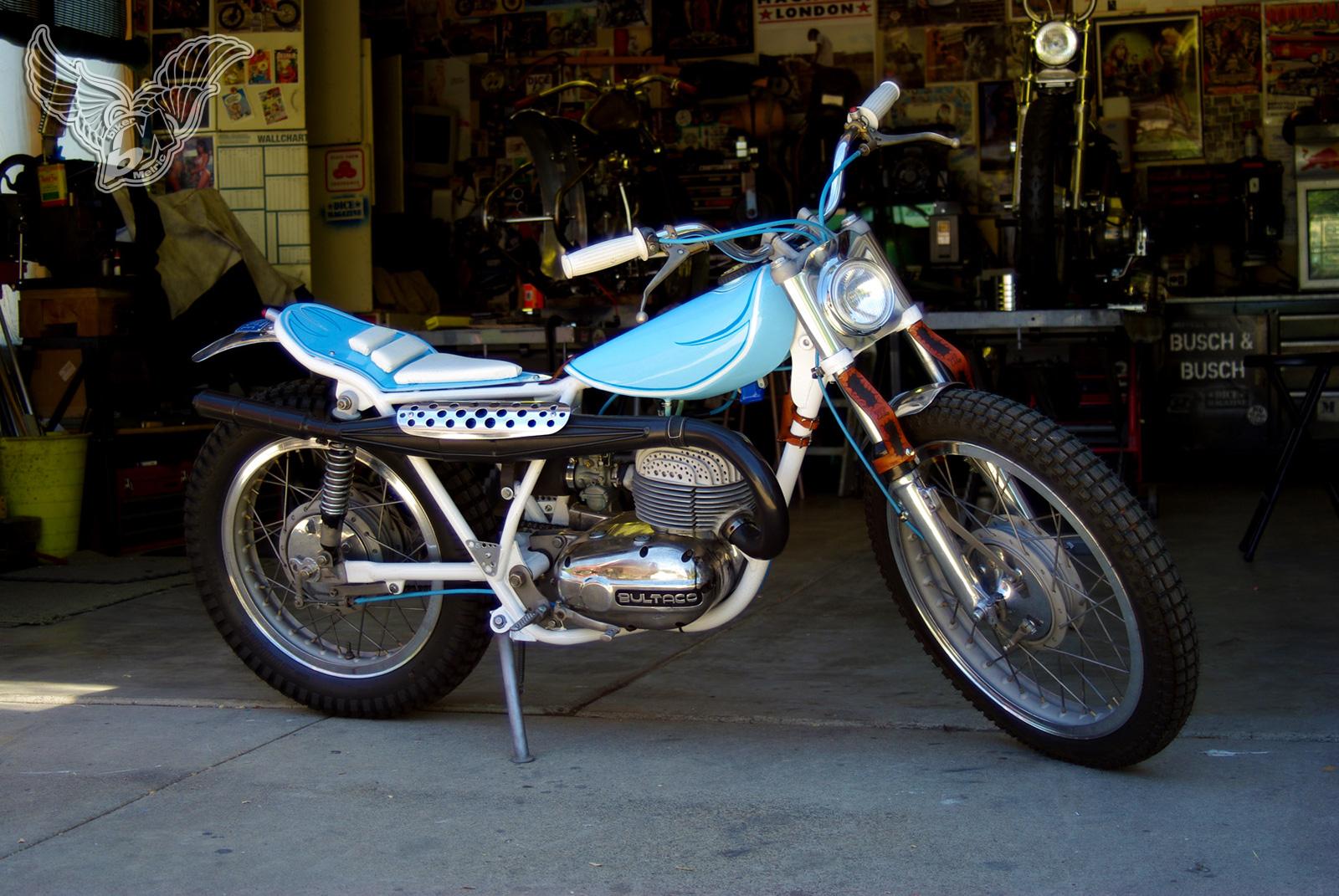 1960's bultaco matador 250 enduro tracker | busch & busch