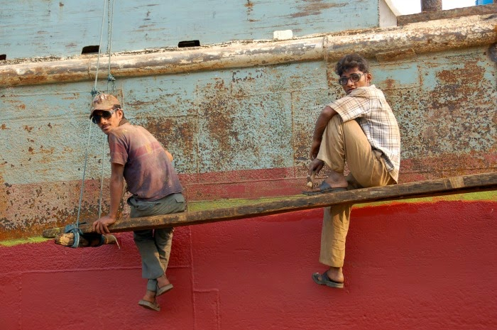 Fotografía Astilleros Bangladesh