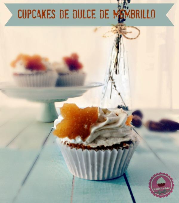 cupcakes de dulce de membrillo portada