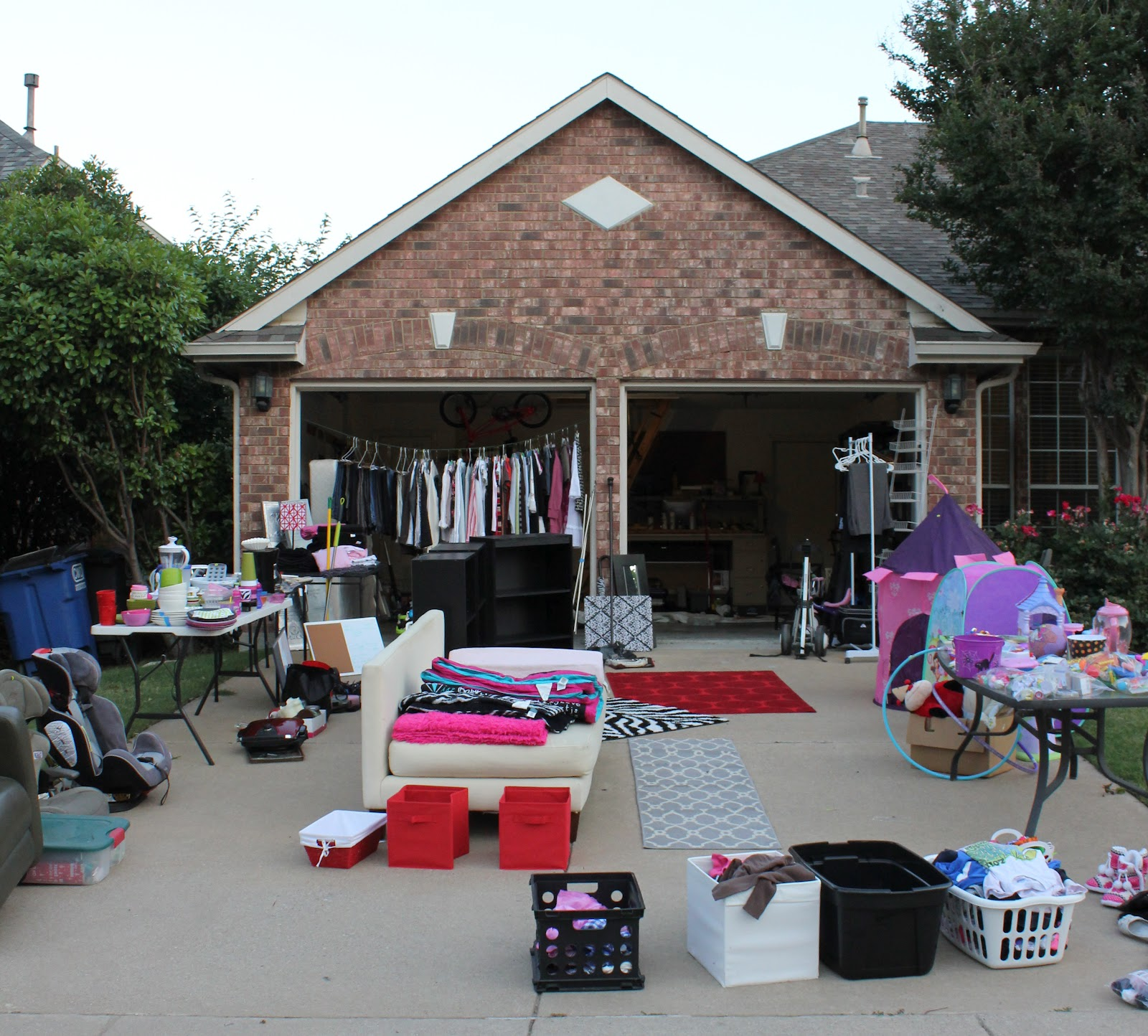garage sales Have a garage sale is a great way to make extra cash these garage sale tips and pricing guidelines will help make your yard sale fun and profitable.