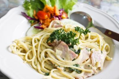 Slimming World - Spaghetti Carbonara