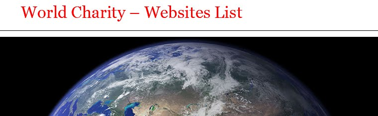 World Charity – Websites List