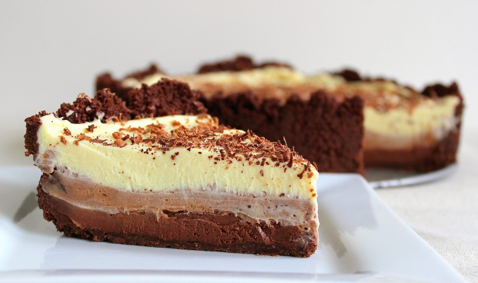 PicNic: Triple Chocolate Cheesecake
