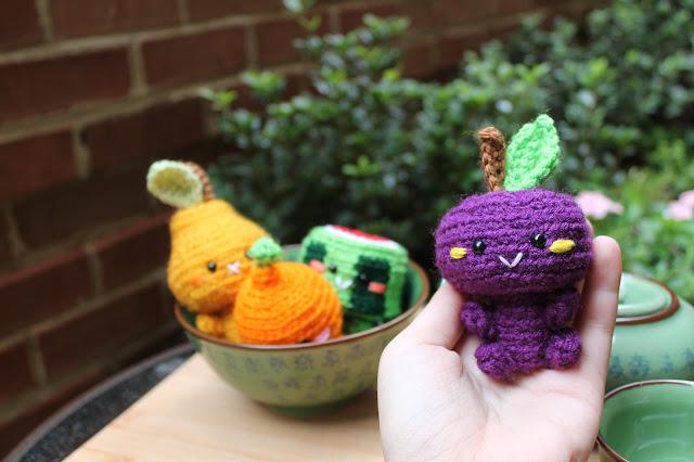 Amigurumi Food : Amigurumi Food: Kawaii Fruit Amigurumi!!