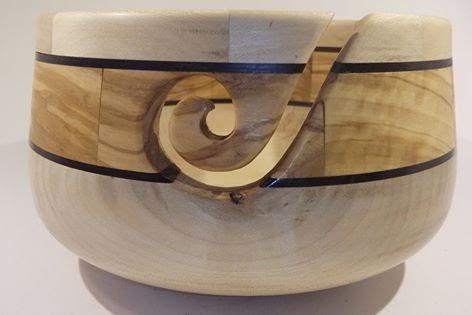 Garnschale Holz wolle, nadeln und patricia: zündende idee - teil ii