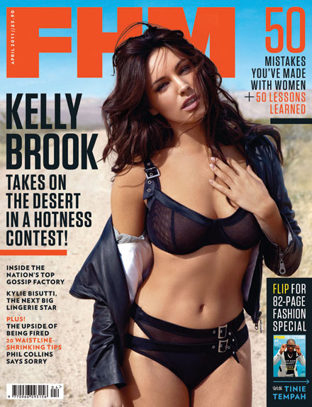 Kelly Brook is Hot in FHM