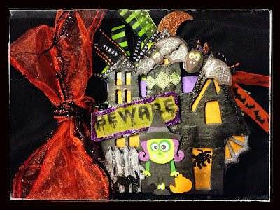 Sizzix Bigz die HOUSE, SPOOKY HAUNTED # 655565