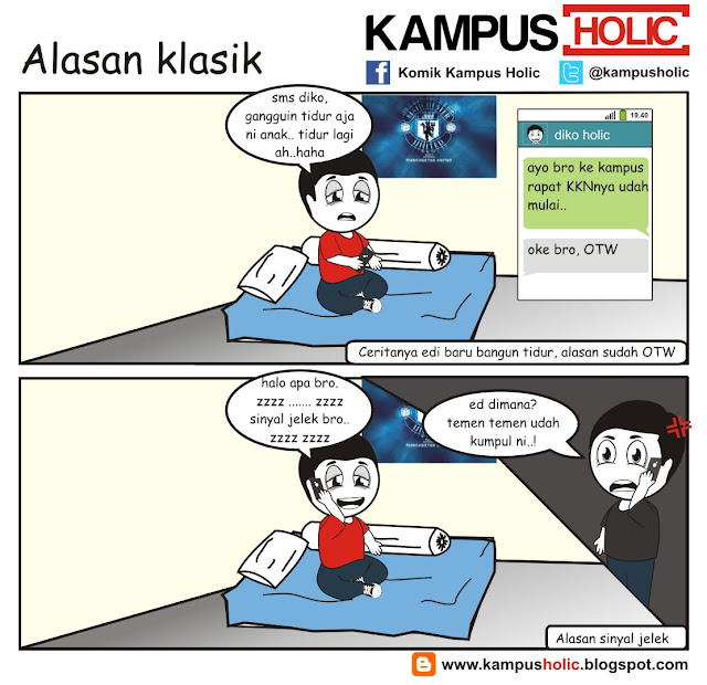 #106 Alasan klasik mahasiswa