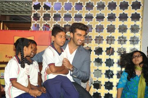 Arjun Kapoor Joins P&G Shiksha Movement Event Photos