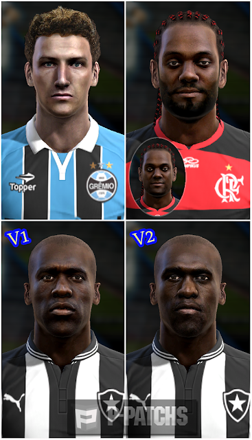 Elano, Vágner Love e Seedorf Faces - PES 2013