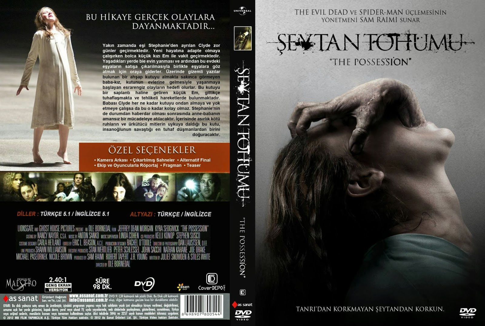 Şeytan Tohumu - The Possession 2012 Bluray 1080p