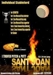 TORNEIG Sant Joan al Hcp1 Pitch & Putt