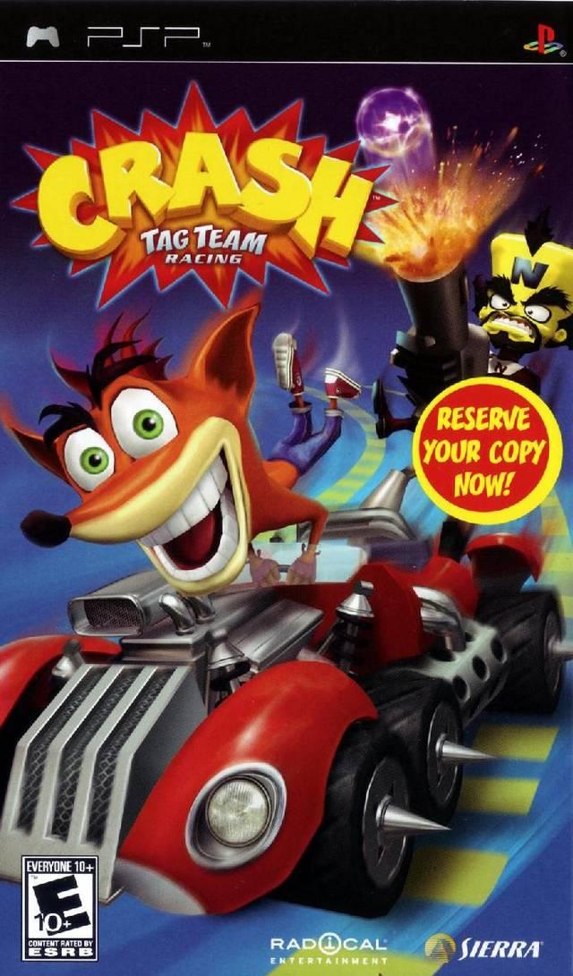 [PSP] Crash Tag Team Racing ~ Hiero's ISO Games Collection