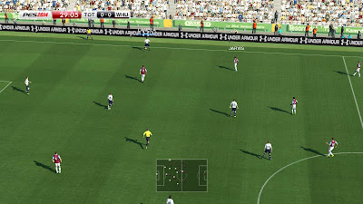 PES 2014 Barclays Premier League Adboard Pack 1.0 (Fix)