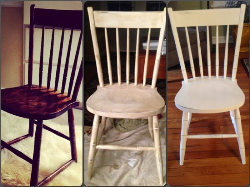 Using chalk paint to transform furniture
