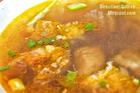 Obat is a soup dish in Legazpi City Albay Bicol