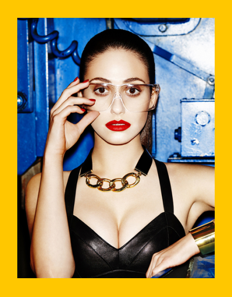 Emmy Rossum by Tony Kelly for Complex Magazine