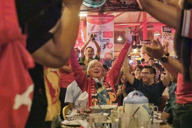 PM Tonton Perlawanan Man United Liverpool Di Singgah Selalu