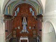 Interior de l'ermita de Santa Maria de l'Antiguitat