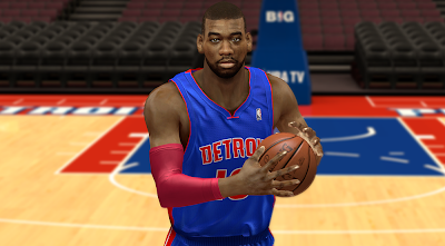 NBA 2K14 Greg Monroe Cyberface Mod