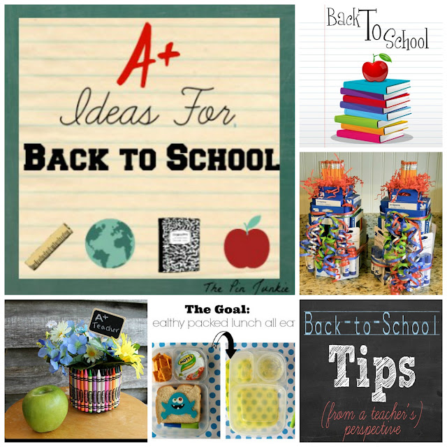 Back to school gifts tips crafts