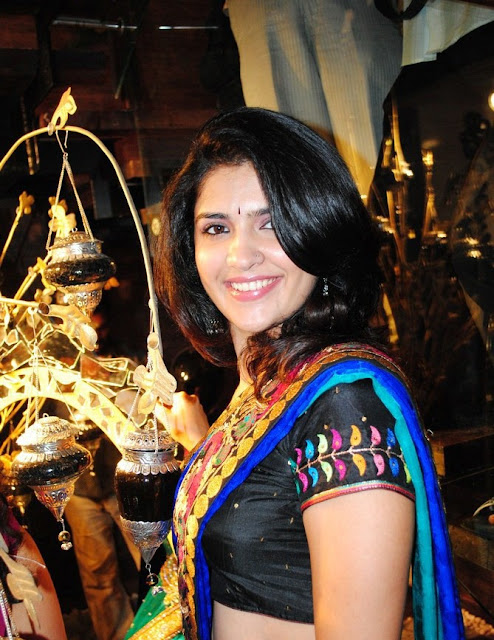 deeksha Seth Saree Photos