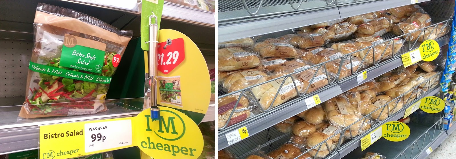 #MorrisonsMum, Morrisons price cut, Morrisons I'm Cheaper products