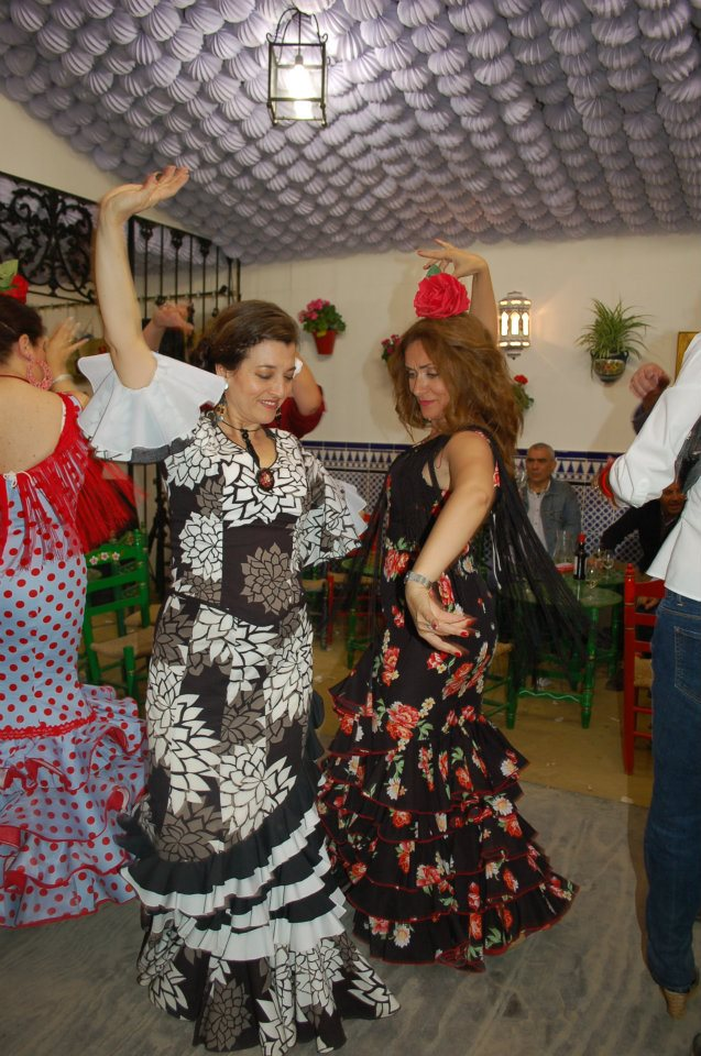 Dance Sevillanas: Learning Sevillanas, and preparing for feria