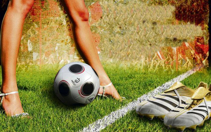 como ya saben esto de que las chicas sean futbolistas se ah vuelto de ...