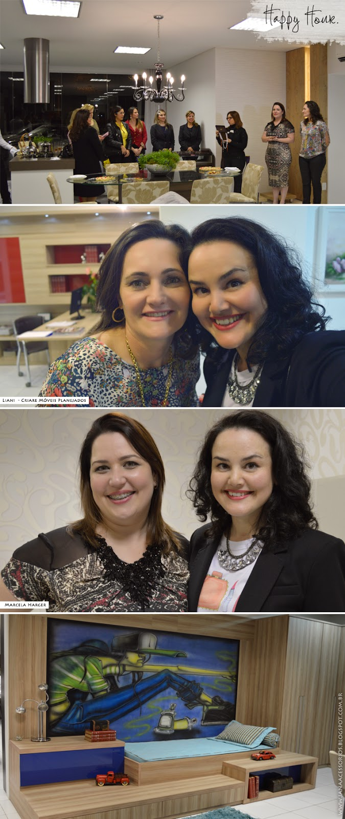 Criare, Joinville, Blogueira, Marcela Harger, Jana, Blogger, Happy Hour