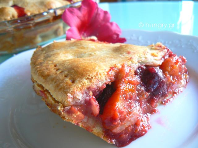 Πίτα με Καλοκαιρινά Φρούτα